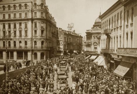 """București. Cum s-a născut pe hartă și de ce ar putea """"muri"""""""