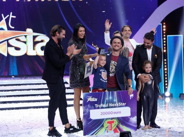 """Mihai Dobre, un copil cu o minte sclipitoare, a castigat """"Next Star"""". Show-ul prezentat de Dan Negru, lider de audienta la orase"""