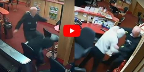 VIDEO. Curajul nu are vârstă! Un bătrân de 85 de ani a pus pe fugă trei hoţi înarmaţi