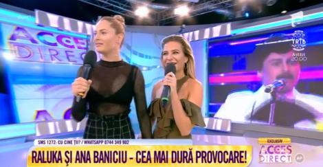 """Cea mai tare provocare pentru Raluka și Ana Baniciu, în direct, la TV! Cine a ieșit învingătoare după """"testul prieteniei"""""""