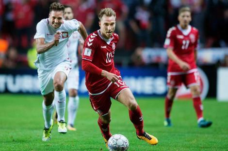 Danemarca a anunțat lotul de 24 de jucători pentru meciurile cu Slovacia și Țara Galilor. Eriksen & co., înlocuiți de jucători de futsal