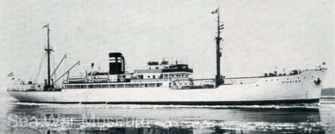 Epava navei naziste M/S Pioneer a fost găsită în largul coastei daneze!