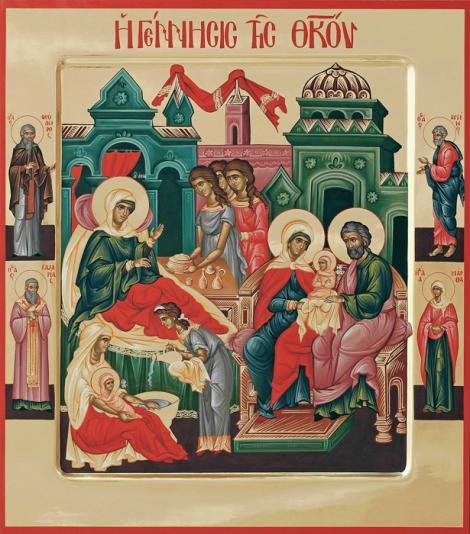 Canon de rugăciune 8 septembrie. Rugăciune la Nașterea Maicii Domnului
