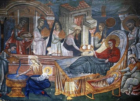 Sinaxarul zilei de 8 septembrie. Sfânta Maria Mică