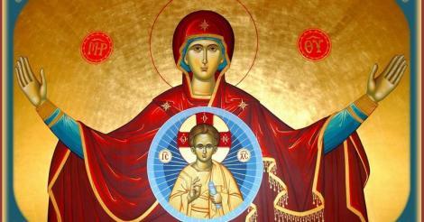 Sfânta Maria Mică. Rugăciune pentru cei adormiți, către Născătoarea de Dumneze