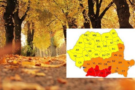 Prognoza meteo pe 4 saptămâni. Vremea 10 septembrie - 8 octombrie