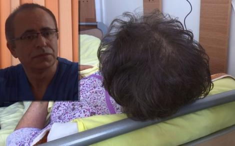 Premieră mondială la un spital din provincie! O femeie cu o tumoare cât o minge de handbal a primit o nouă șansă la viață, după ce i-a fost extirpată