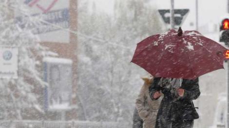Vremea 21 ianuarie 2019. Prognoza meteo anunță ploi și ninsori în România