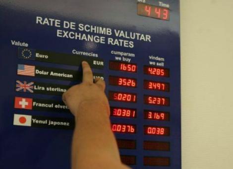 Lovitură pentru români la casele de schimb valutar: Dobânzile eu explodat! Maxim istoric pentru cursul Leu-Euro