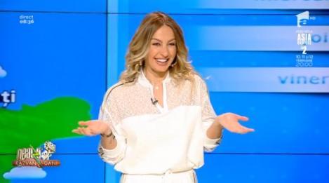 ,,Neatza cu Răzvan și Dani'' Viitoarea mămică Flavia Mihășan  dezvăluie în premieră cine vor fi nașii copilului ,,Eu l-am întrebat și pe Dani...''