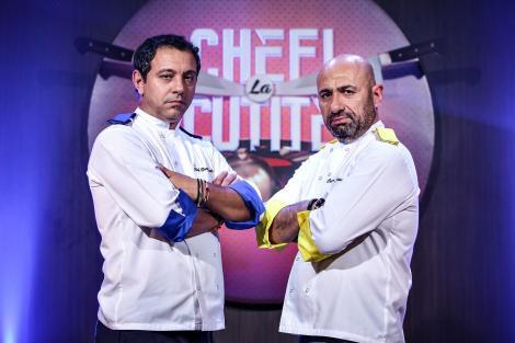 """Finală galben-albastră! Ei sunt cei trei finaliști care luptă pentru trofeul sezonului 6 """"Chefi la cuțite"""""""