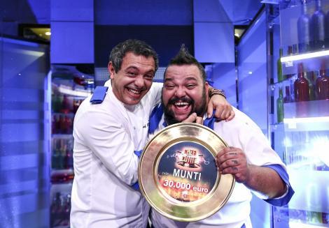 """SOrin, din nou! Mihai Munteanu, alias Munti, este câștigătorul """"Chefi la cuțite"""", sezonul 6"""