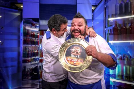 """Mihai Munteanu este câștigătorul celui de-al șaselea sezon """"Chefi la cuțite"""" Finala emisiunii, record de audienţã în acest sezon"""