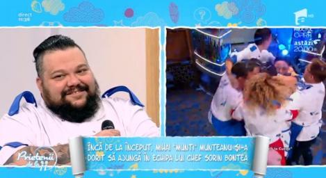 """""""Uriaşul"""" lui Bontea a câştigat trofeul """"Chefi la cuţite""""! Mihai Munteanu, eroul tunicilor albastre! """"Câștigătorii sezonului 6, suntem 2 la număr, sunt eu și ...''"""