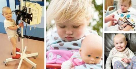 Părinții au descoperit că fetița lor de 2 ani are cancer după ce au fotografiat-o într-o ipostază extrem de gingașă! Care a fost semnul care le-a dat de gândit