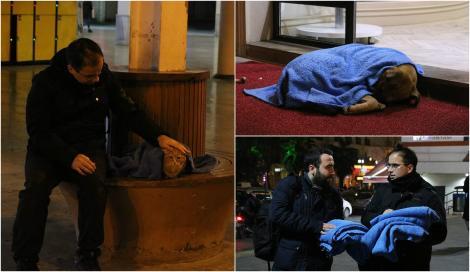 """Trăiește ca să ajute! În fiecare noapte, """"eroul cu pătură"""" salvează zeci de animale de la moarte sigură FOTO"""