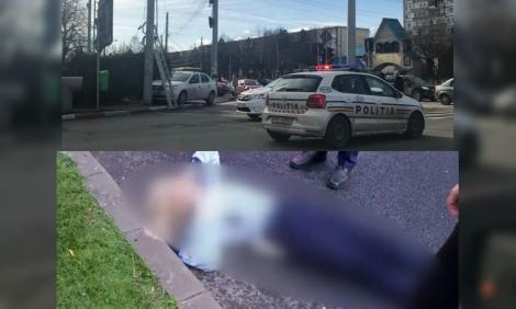 L-a oprit, i-a cerut actele, dar a dat cu maşina peste ea. O polițistă din Ploiești a fost lovită de un șofer