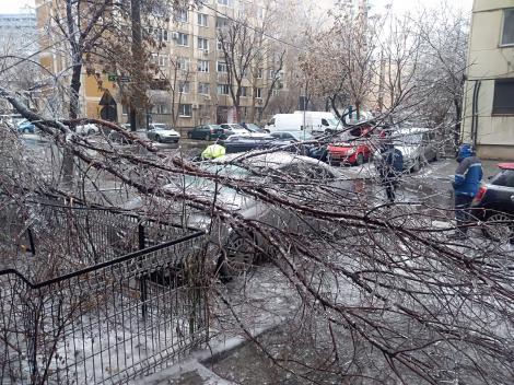 """Autoritățile, depășite de haosul provocat de ploaia din Capitală! Un primar din Capitală: """"E ca la cutremur!"""""""
