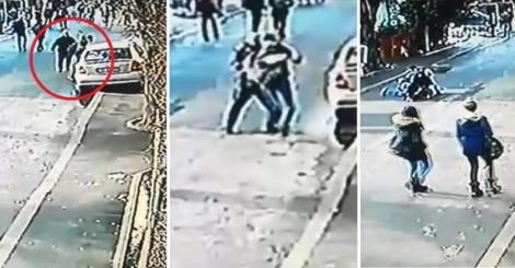 VIDEO| Momentul arestării tânărului care a înjunghiat o profesoară. Tânărul voia să se răzbune, cu orice preț