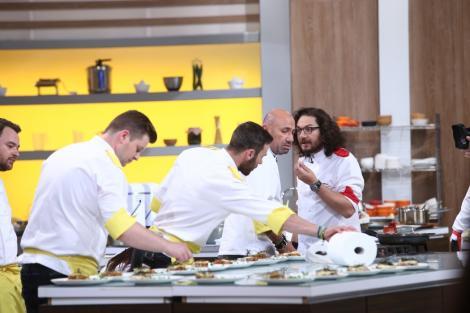 """Tensiune uriaşă la emisiunea """"Chefi la cuţite""""! Chef Florin Dumitrescu: """"Nu mă călcați pe coadă, că înnebunesc!"""""""