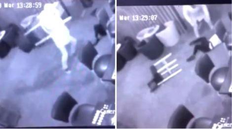 Scene halucinante în Timișoara! O tânără de 22 de ani, bătută crunt într-un cazinou, cu un scaun