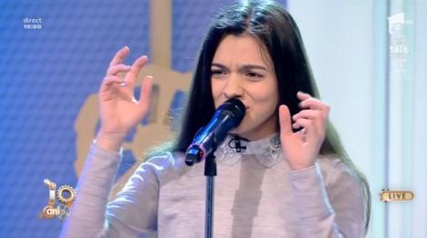 """Neatza cu Răzvan și Dani. Laura Bretan cântă superba melodie cu care reprezintă România  la Eurovision. Ascultă și tu """"Dear Father"""""""