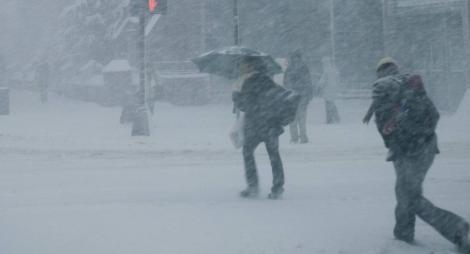 Vremea 10 ianuarie. Prognoza meteo anunță ninsori. Cât scad temperaturile