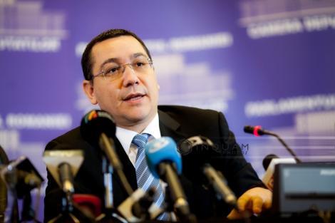 Ponta, despre moţune: Mâine avem Birouri Permanente, stabilim un calendar de bun simţ şi probabil luni sau marţi o şi votăm