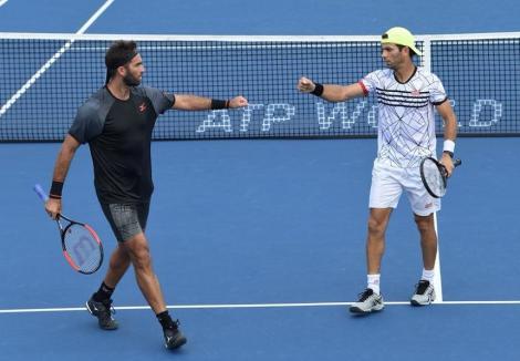 Perechea Horia Tecău/Jean Julien Rojer, eliminată în optimile de finală ale turneului de la Shanghai