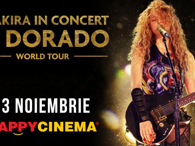 Shakira, în concert pe marele ecran, în noiembrie, la Happy Cinema