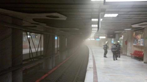 Conducătorul metroului care a târât un bărbat agăţat de vagon are mai multe antecedente! A fost pe aproape să se izbească de un alt metrou
