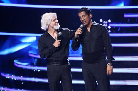 """Transformarea de care i-a fost teamă lui Șerban Copoț! Kenny Rogers și Lionel Richie ne-au fermecat pe scena """"Te cunosc de undeva!"""""""