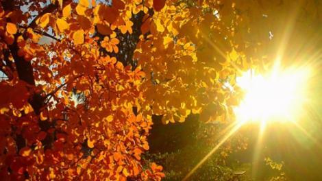 Vară în România, în mijlocul lunii octombrie! Zonele în care temperaturile vor uca până la 30 de grade Celsius