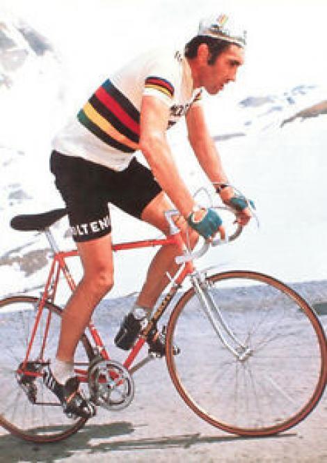 Fostul rutier Eddy Merckx, spitalizat după ce a căzut de pe bicicletă