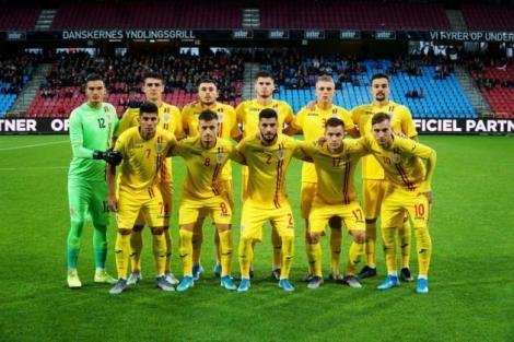Naţionala de tineret a României a învins Irlanda de Nord, scor 3-0, în preliminariile Euro-2021