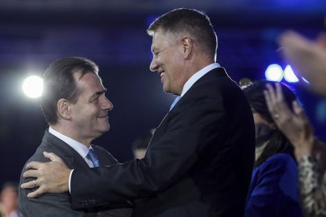 Iohannis: Am decis să desemnez prim-ministrul în persoana lui Ludovic Orban