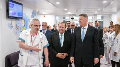 Iohannis, la inaugurarea Ambulatoriului Spitalului Suceava: Cu atât mai importantă este această realizare, cu cât vine într-un context în care guvernarea PSD ne-a oferit constant doar fantasmagorii