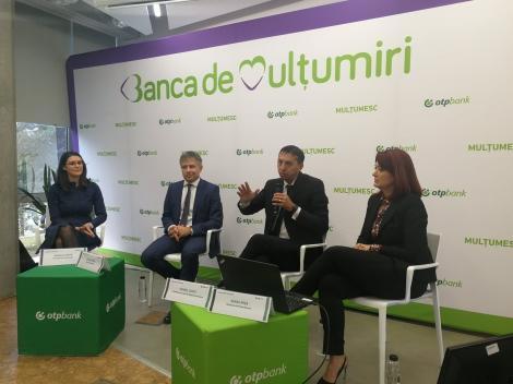 """OTP Bank România vrea să angajeze circa 400 de oameni în următorul an. """"Vrem să ne dublăm cota de piaţă, la 5%, până în 2024"""""""