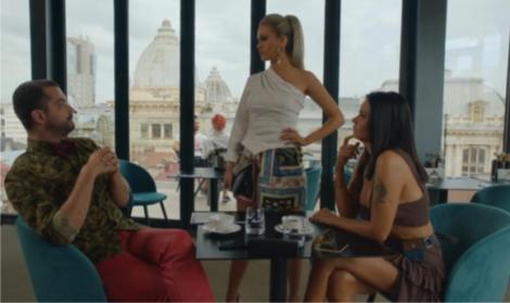 """Sacrificiul, episodul 11. Diva (Oana Zăvoranu) poartă un dialog presărat cu replici acide cu Lili (Michaela Prosan). """"Pari cam țărăncuță"""", i-a transmis Diva"""