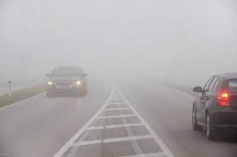 Alertă meteo cod galben de ceață în România. Când se strică vremea