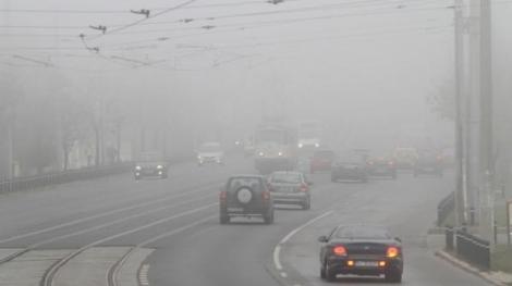 Alertă meteo ANM de ceață și burniță. Cum va fi vremea în weekend în România