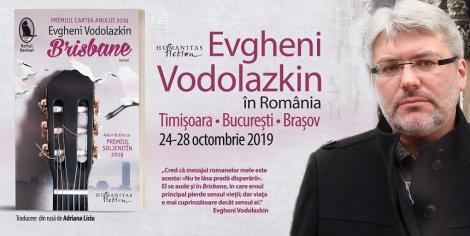 Evgheni Vodolazkin, unul dintre cei mai importanţi scriitori ruşi, la Festivalul de Literatură de la Timişoara
