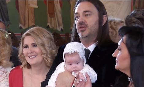 Alessandra Stoicescu și-a botezat fetița! Imagini inedite de la botez |  VIDEO