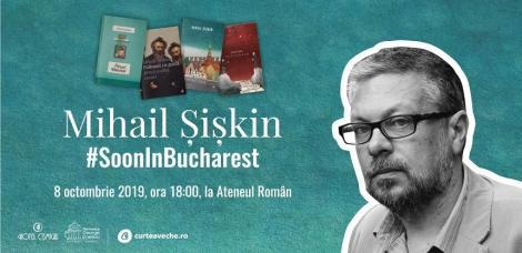 Scriitorul rus Mihail Şişkin va conferenţia pe 8 octombrie la Ateneul Român