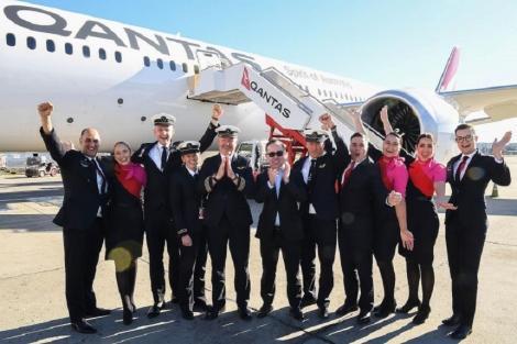 Compania aeriană Qantas a testat cel mai lung zbor fără oprire din lume, între New York şi Sydney