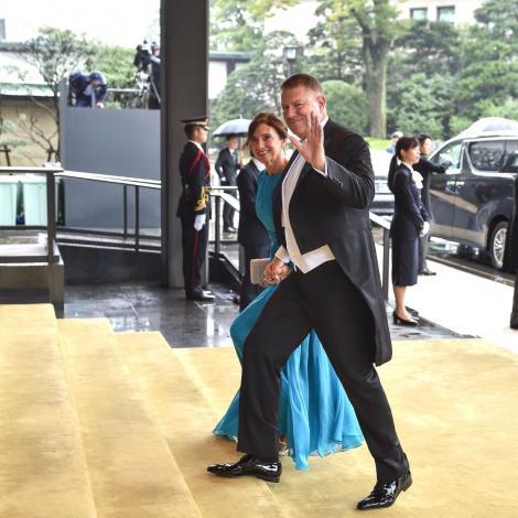 Iohannis spune că a fost o onoare să participe la ceremonia de întronare a Împăratului Naruhito al Japoniei