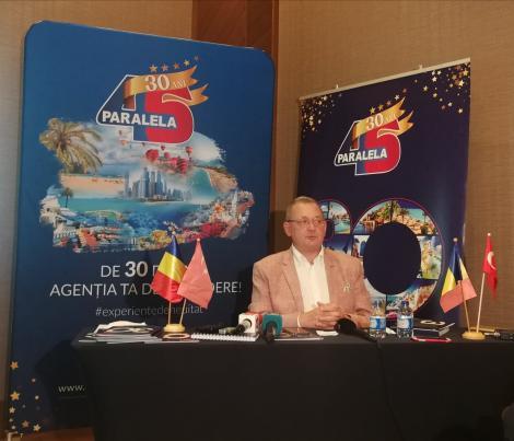Alin Burcea, Paralela 45: Problema Tarom şi reducerea TVA la 5% pentru agenţiile de turism ar trebui să fie priorităţi pentru noul Guvern