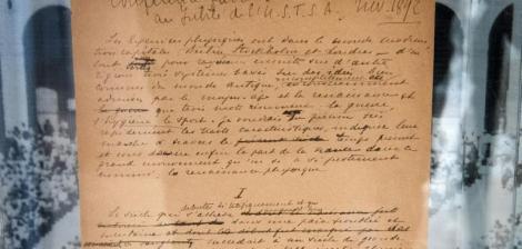 JO: Manifestul lui Pierre de Coubertin, scos la licitaţie la New York