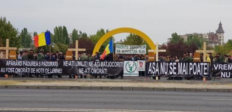 Silvicultorii organizează în 29 octombrie un protest faţă de intensificarea agresiunilor împotriva lor. Iohannis, Dăncilă, preşedinţii Camerelor, conducerea Romsilva, invitaţi să participe