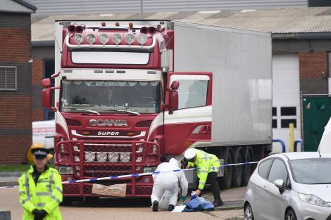 Răsturnare de situație în cazul camionului din Essex. Cine se află printre cele 39 de persoane care au murit în chinuri, la - 25 de grade C
